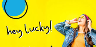 Free Hey Lucky Display Font