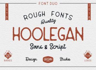 Free Hoolegan Sans Serif Font