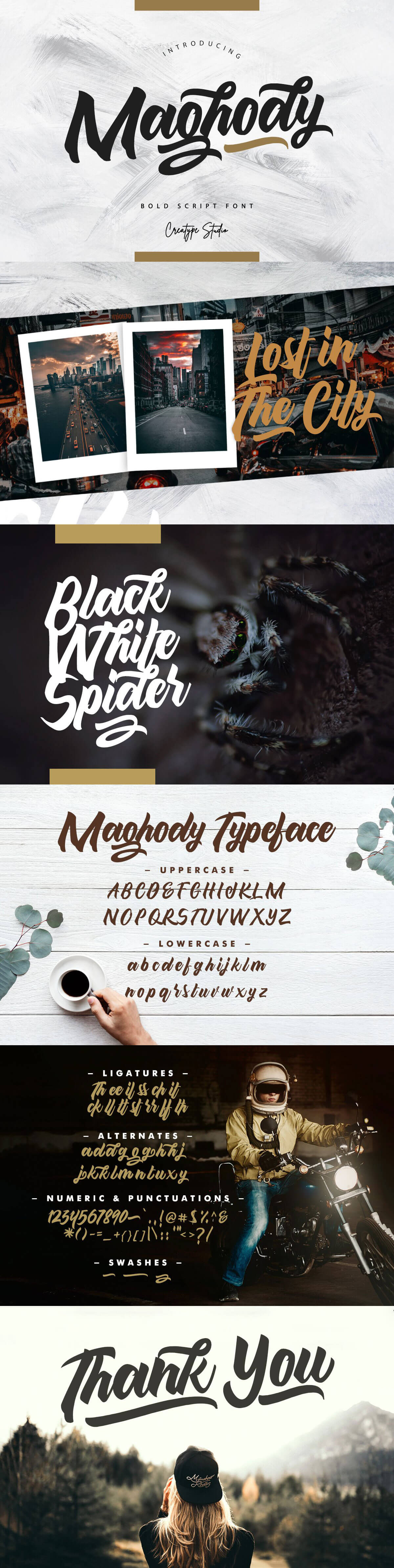 Free Maghody Script Font