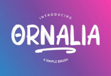 Free Ornalia Display Font