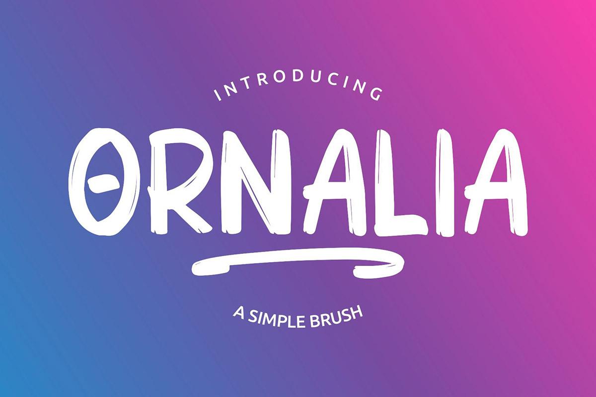 Free Ornalia Display Font