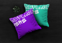 Free Pillows Mockup
