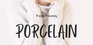 Free Porcelain Sans Serif Font