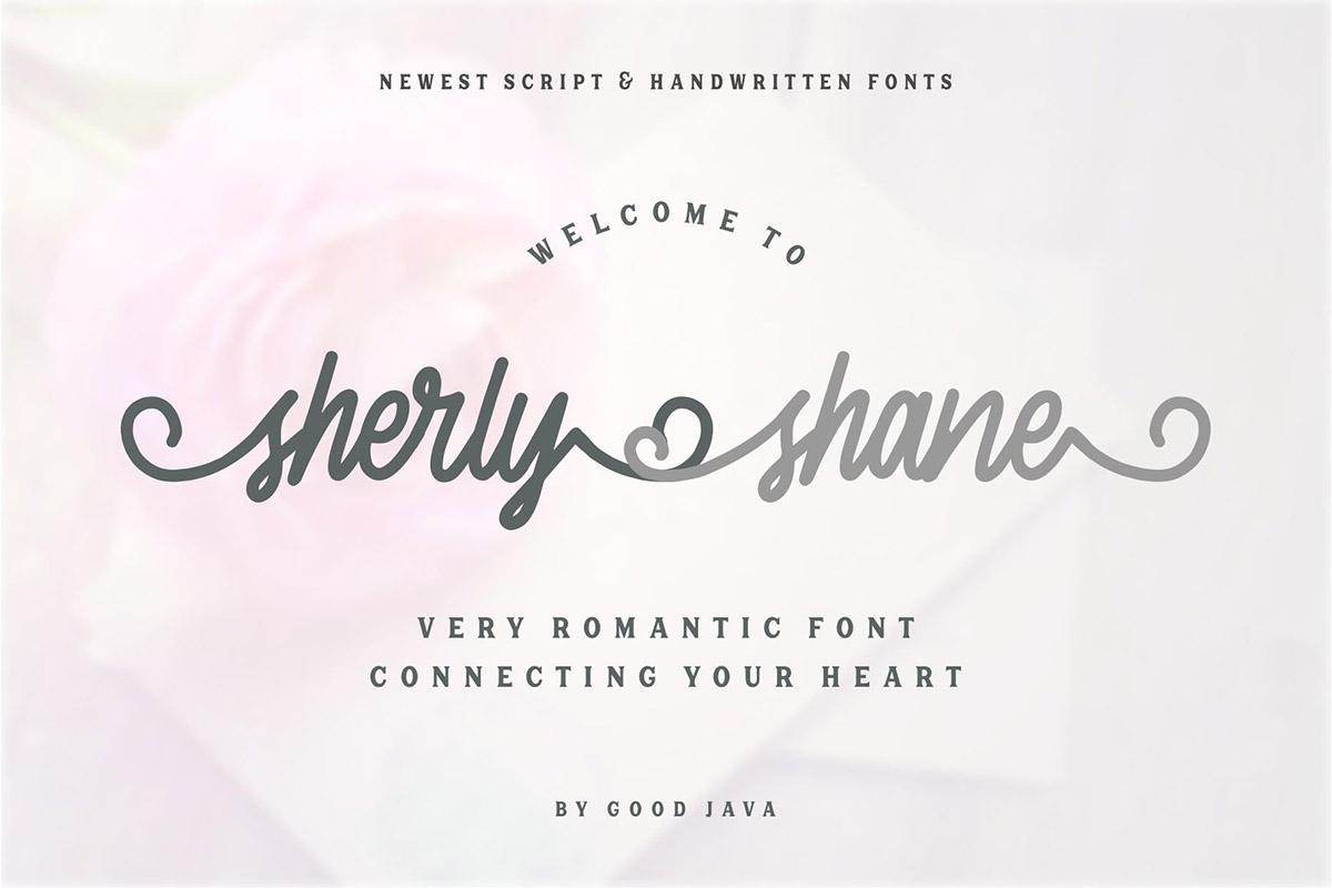 Free Sherly Shane Script Font