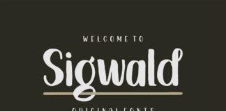 Free Sigwald Handdrawn Font