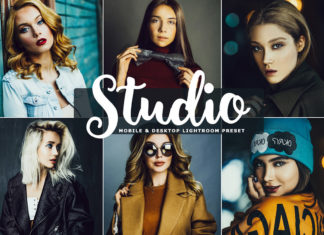 Free Studio Lightroom Preset
