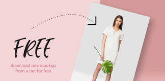 Free Tropic Women's Dress Mockup
