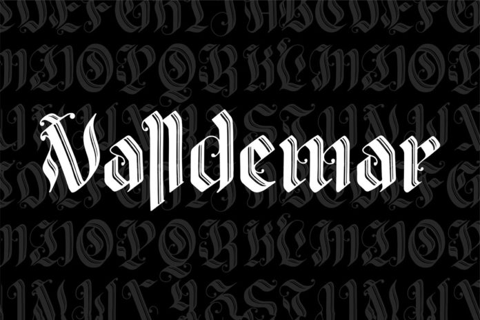 Free Valldemar Blackletter Font