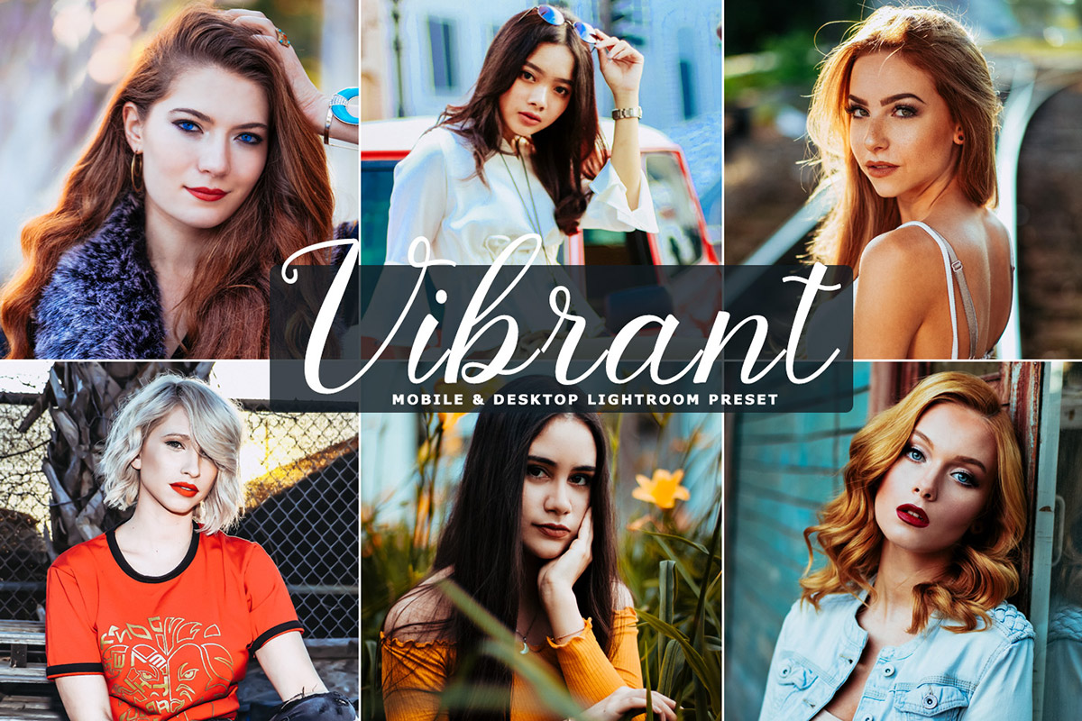 Free Vibrant Lightroom Preset
