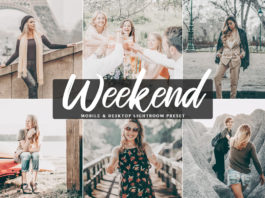 Free Weekend Lightroom Preset