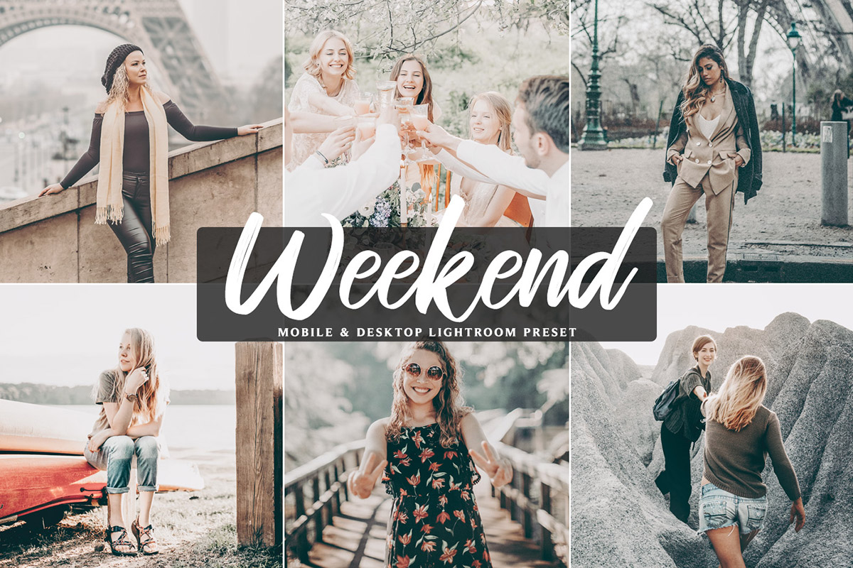 Free Weekend Mobile & Desktop Lightroom Preset - Creativetacos