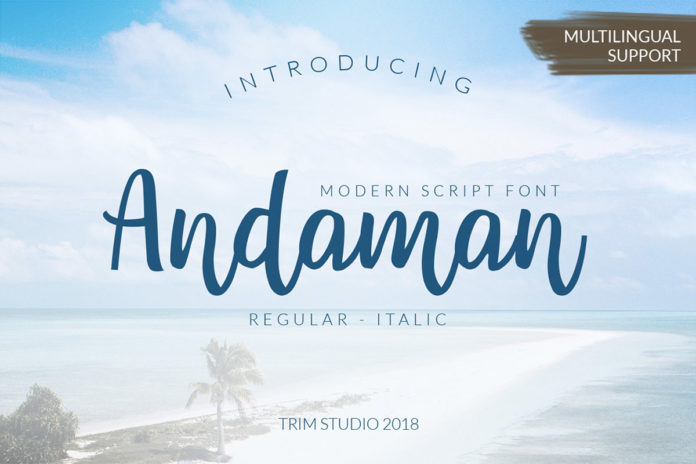 Free Andaman Script Font Family