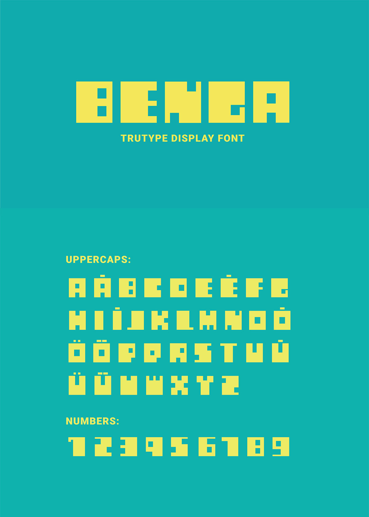 Free Benga Display Font