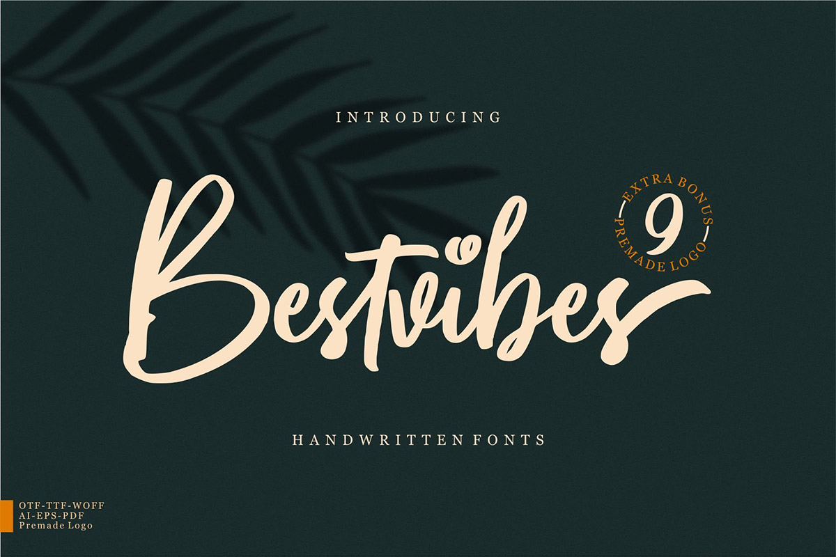 Free Bestvibes Handwritten Font
