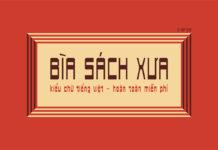 Free Biasachxua Vintage Font