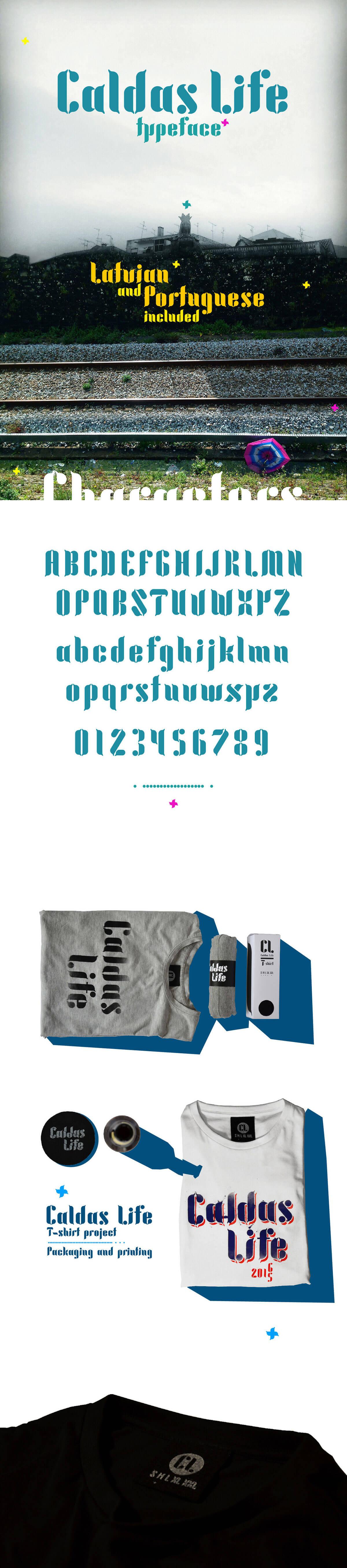 Free Caldas Life Display Font