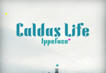Free Caldas Life Display Font