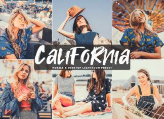 Free California Lightroom Preset
