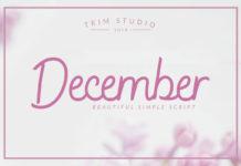 Free December Beauty Script Font