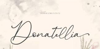 Free Donatellia Signature Font