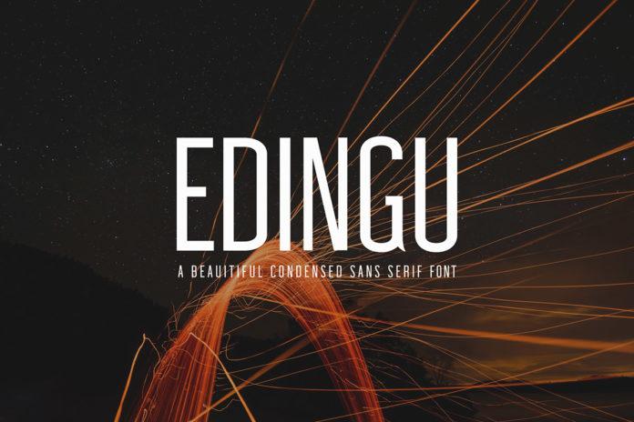 Free Edingu Sans Serif Font