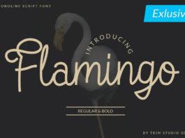 Free Flamingo Script Font