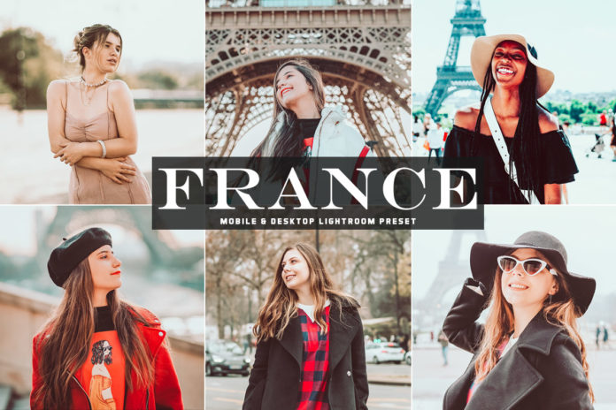 Free France Lightroom Preset