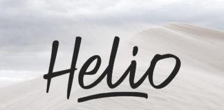 Free Helio Brush Script Font