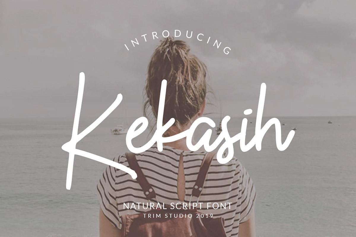 Free Kekasih Signature Font