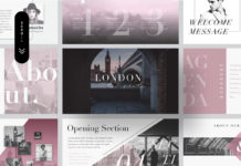Free London Minimal Presentation Template