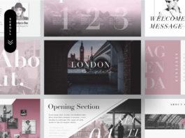 Free London Minimal Presentation Template