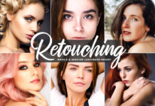 Free Retouching Lightroom Preset