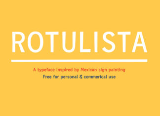Free Rotulista Display Font