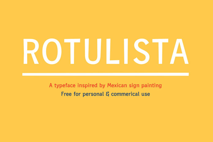 Free Rotulista Display Font