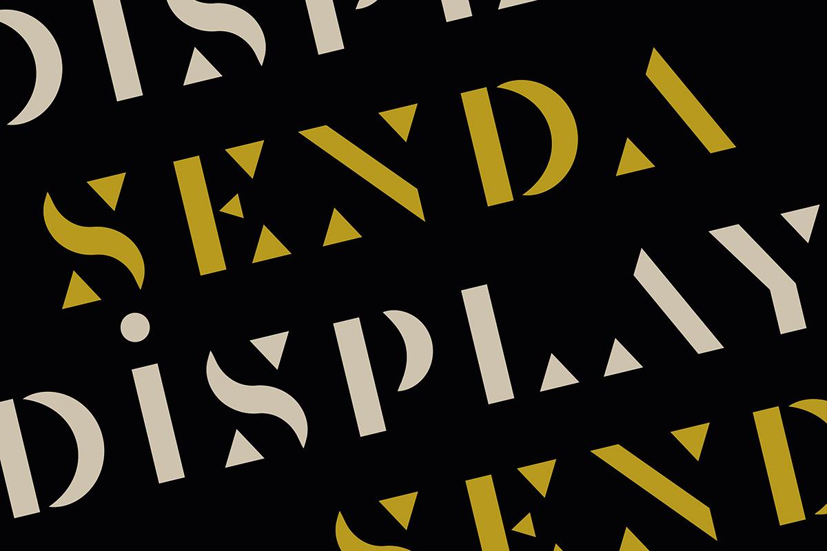 Free Senda Display Font