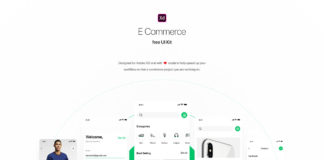 Free Shopping Ecommerce UI Kit XD