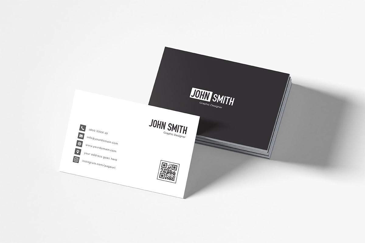 Free Simple Business Card Template ~ Creativetacos