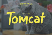 Free Tomcat Display Font