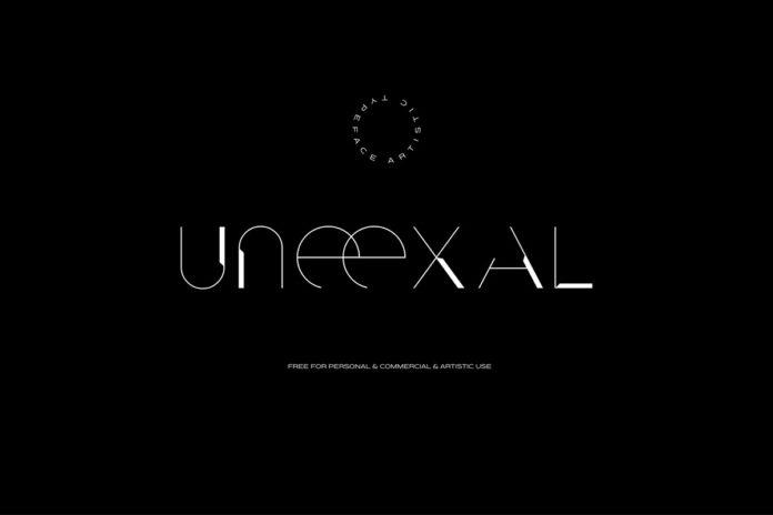 Free Uneexal Display Font