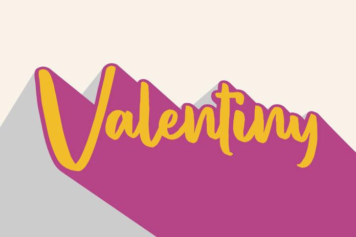 Free Valentiny Script Font