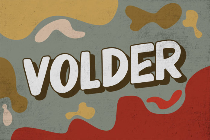 Free Volder Display Font