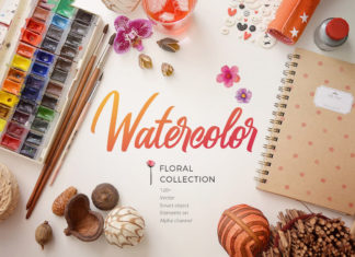 Free Watercolor Collection