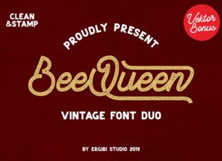 Free BeeQueen Script Font