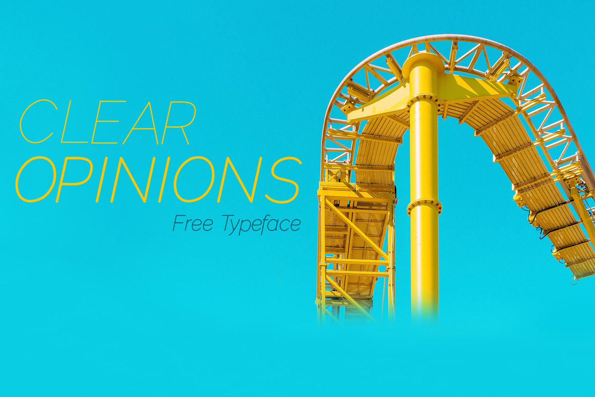 Free Clear Opinions Sans Serif Font Family