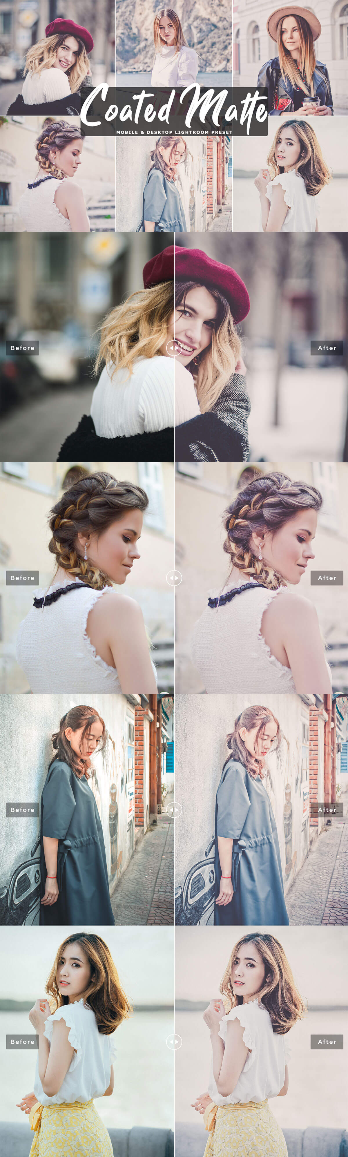 Free Coated Matte Lightroom Preset