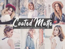 Free Coated Matte Lightroom Preset