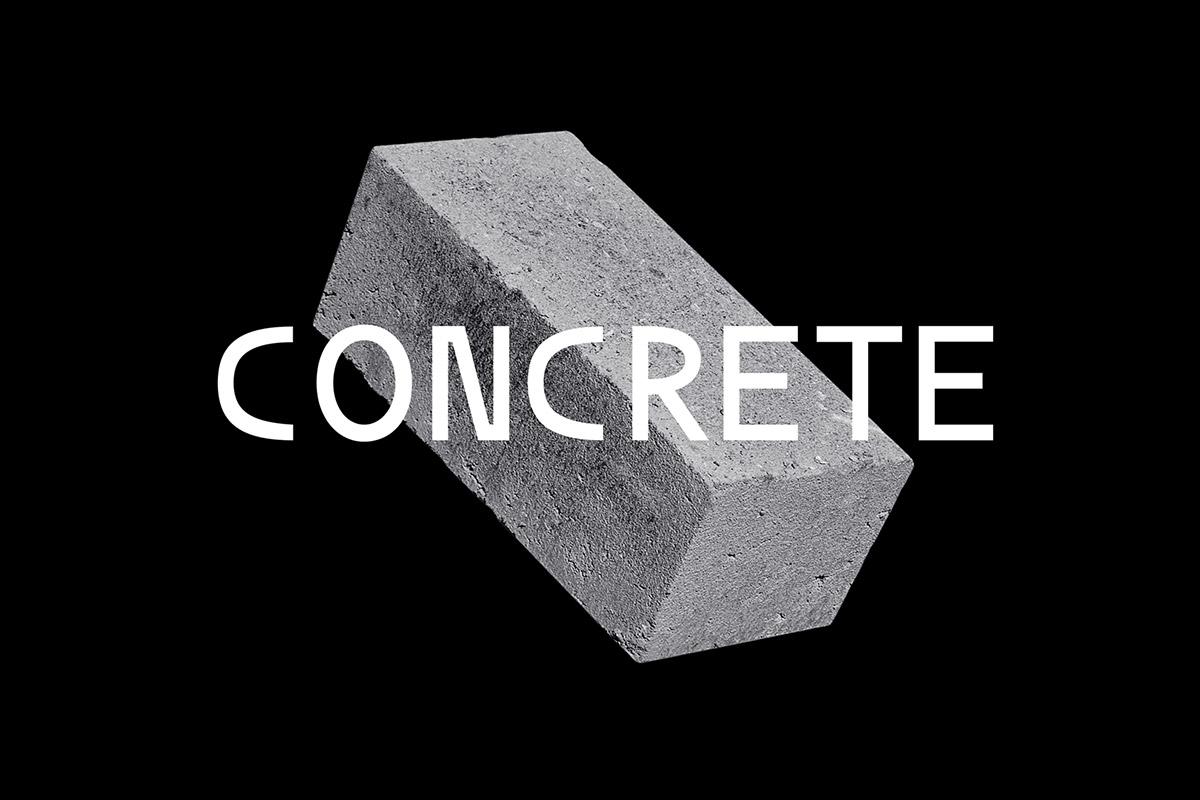 Free Concrete Sans Serif Font