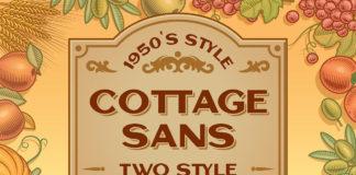Free Cottage Sans Serif Font