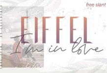 Free Eiffel In Love Trio Font