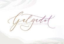 Free Galgadot Handwritten Script Font